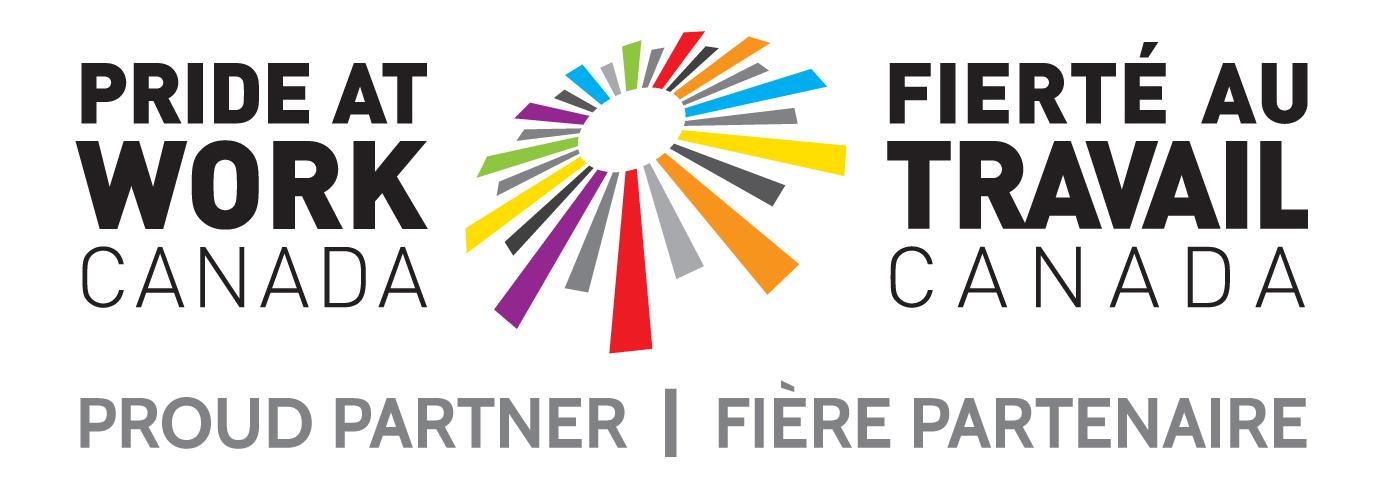 Pride at Work Canada Proud Partner Bilingual